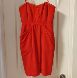 BCBGMaxAzria Fitted Cocktail Dress